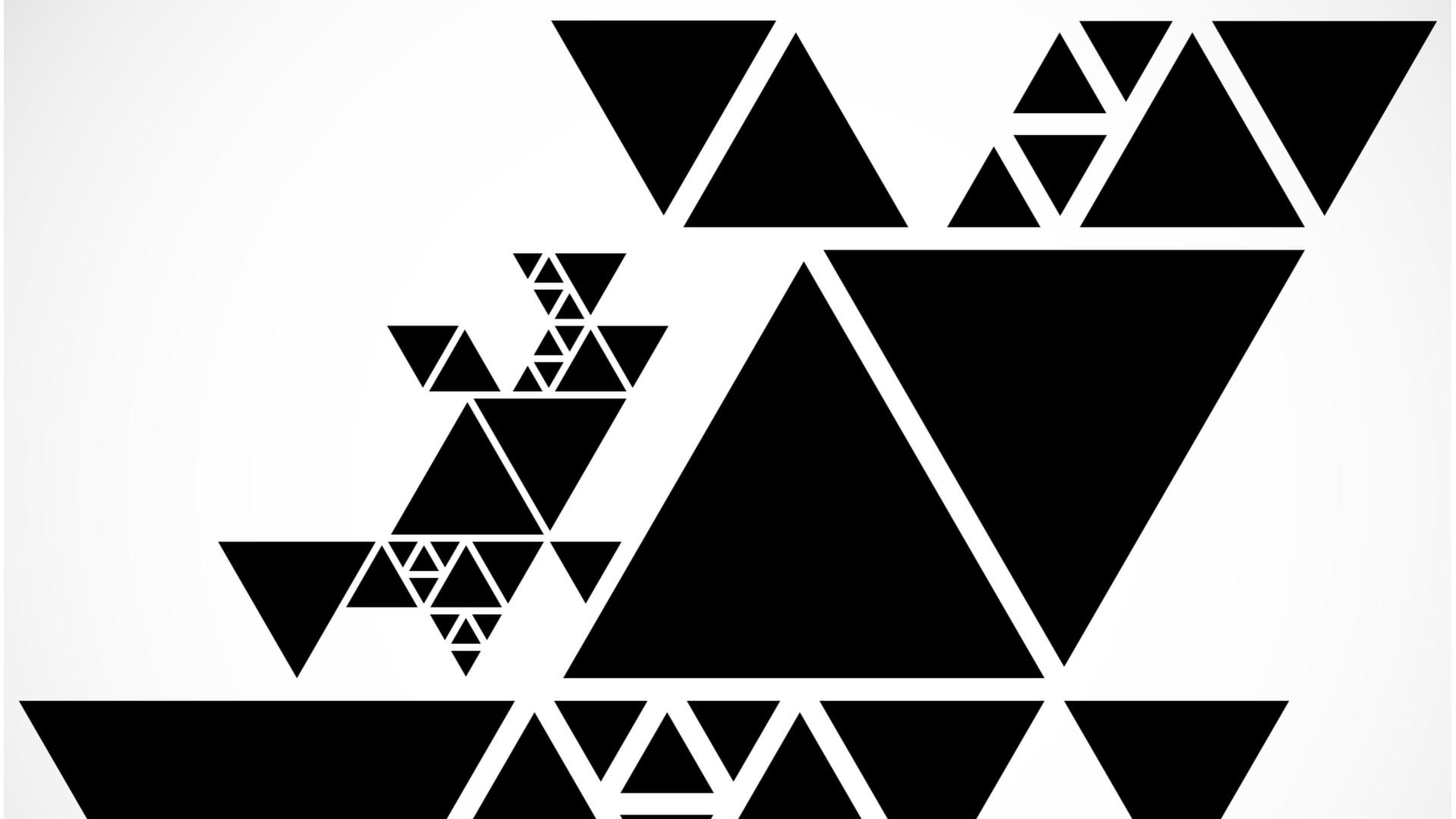 Triangoli simbolo della perfezione per i pitagorici, incastrano 10 punti